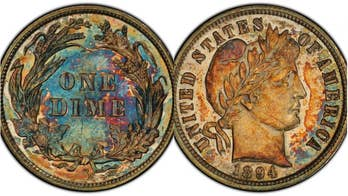 Extremely rare 1894 dime expected to sell for over $1 million
