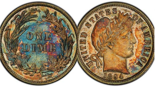 Extremely rare 1894 dime once owned by Jerry Buss sells for $1.3M