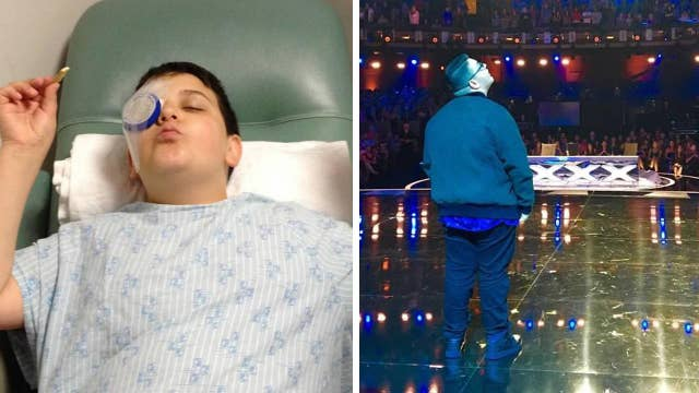 Born blind, Christian Guardino given the gift of sight and becomes popular singer