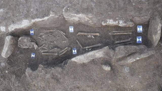 86 skeletons found in hidden medieval graveyard