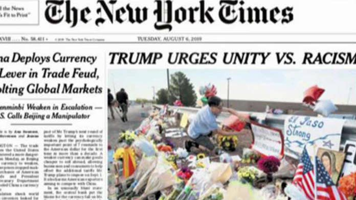 Dan Gainor: The New York Times changes its headline, caves to the mob and shows it has lost its mind