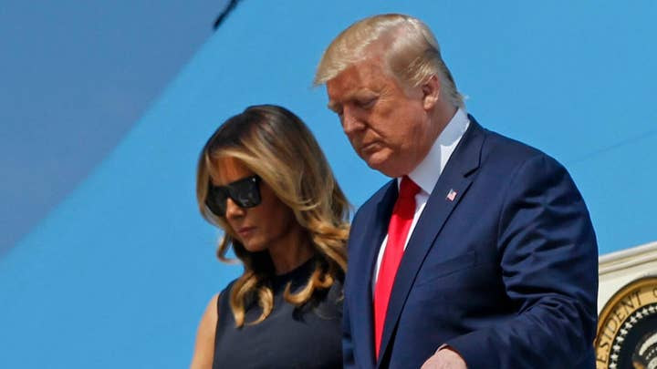 President Trump visits Texas and Ohio after mass shootings