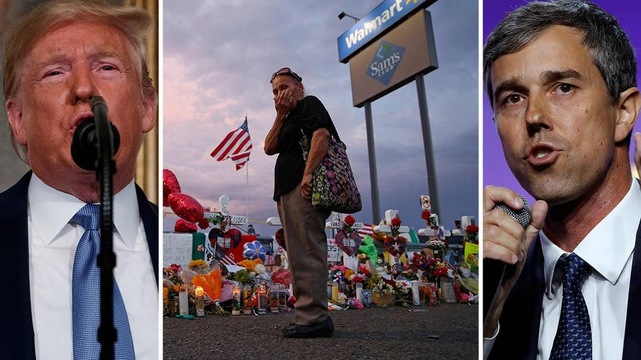 Why are Democrats urging Trump not to visit El Paso, Dayton in wake of mass shootings?