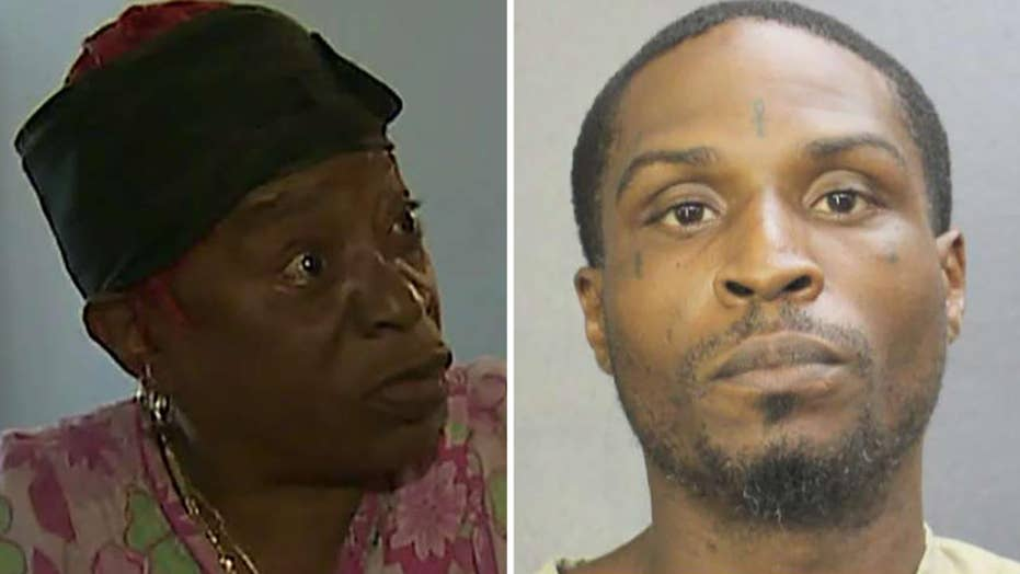 Florida woman fights off home intruder: 'Get out of my house!'