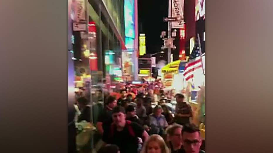 Motorcycle backfiring in Times Square mistaken for gunshots