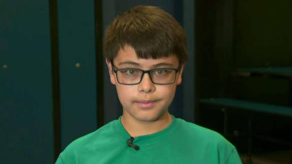 11-year-old boy launches 'El Paso Challenge'
