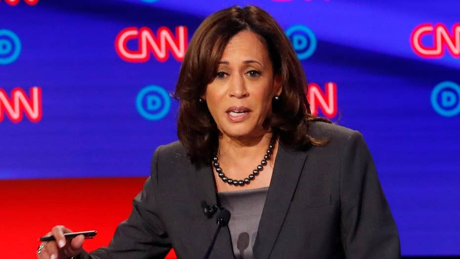 Support for Kamala Harris drops after Tulsi Gabbard calls her out during Detroit Democratic debate.