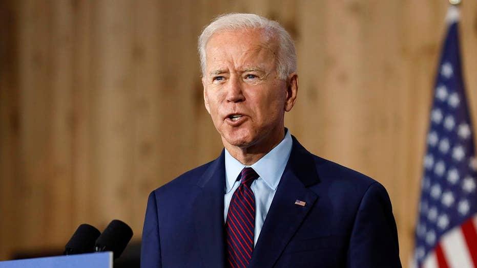 Democratic frontrunner Joe Biden attacks Trump on racism