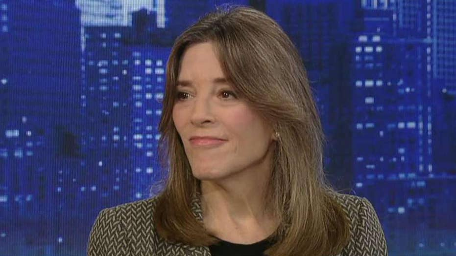 Marianne Williamson: Trump is not directly responsible for shootings, but he has fanned the flames