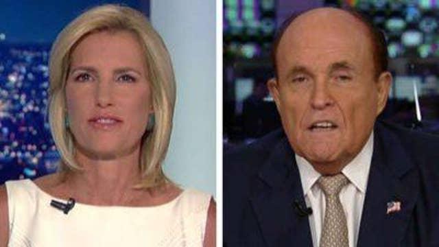 Giuliani reacts to Trump's El Paso visit