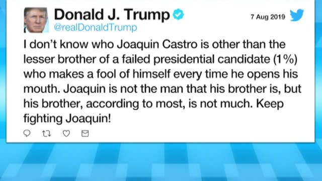 Trump launches insults at Castro brothers on Twitter after donor flap