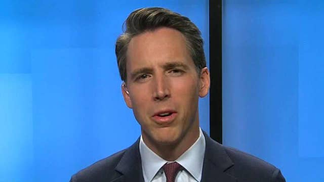 Sen. Hawley says 'it's crazy' for Twitter to shut down McConnell's account