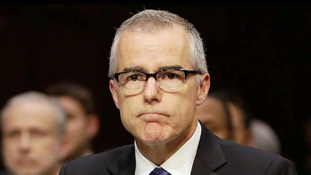 Ex-FBI official Andrew McCabe sues over his firing