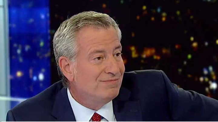 Bill de Blasio: Corporations have to pay their fair share in taxes
