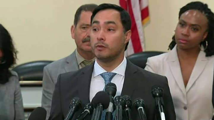 Texas Democrat Joaquin Castro defends himself for naming, shaming constituents who are Trump donors.