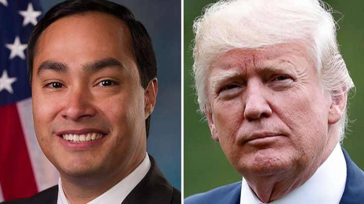 Rep. Joaquin Castro puts Trump donors on blast