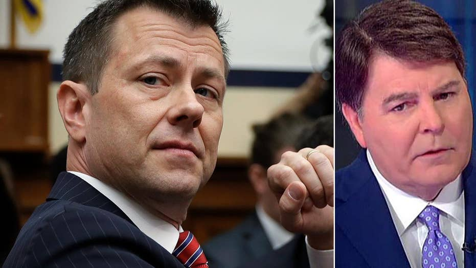 Gregg Jarrett: 'Clueless' Peter Strzok doesn't have a case to get his job back