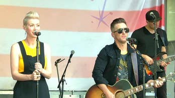 Thompson Square performs 'Masterpiece' on the All-American Summer Concert Series