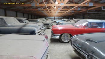 Late farmer's massive car collection up for auction in Minnesota