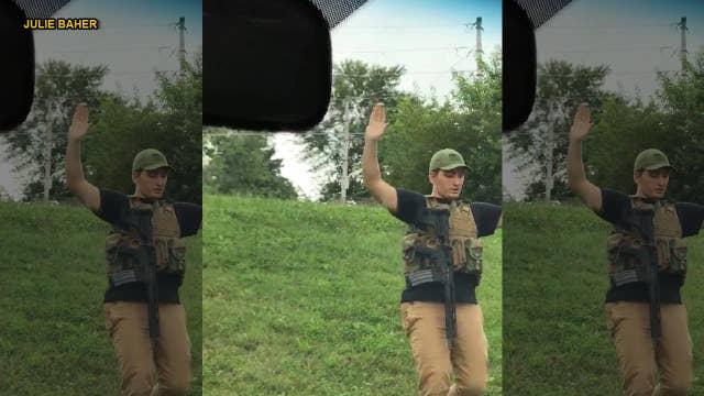 Witness recounts Missouri Walmart threat suspect's capture