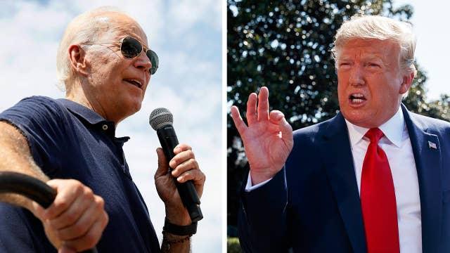 Trump attacks Biden following the former VP's latest gaffe