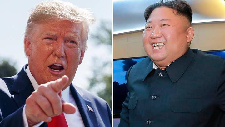 Trump touts 'beautiful' letter from Kim Jong Un