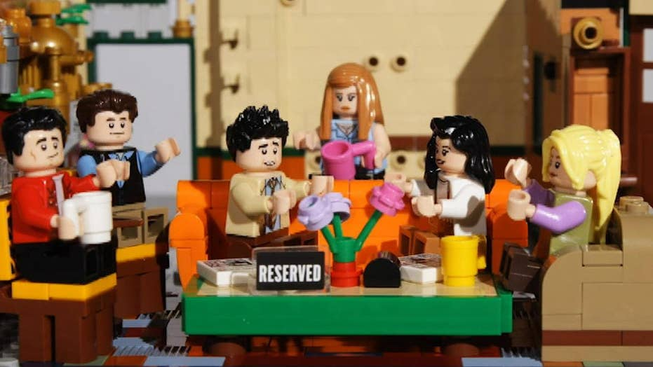 Lego debuts 'Friends' Central Perk set as show marks 25