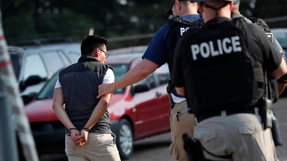 Almost half of the 680 arrested in Mississippi ICE raid released on 'humanitarian grounds'
