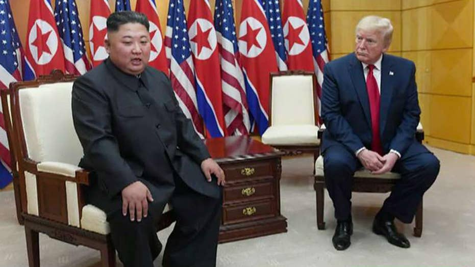 Trump says he's received 'beautiful' letter from Kim Jong Un