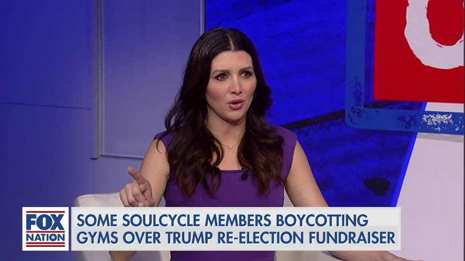 Erin Elmore hits back at celebs calling for SoulCycle boycotts: 'I'm going in there in my MAGA hat'