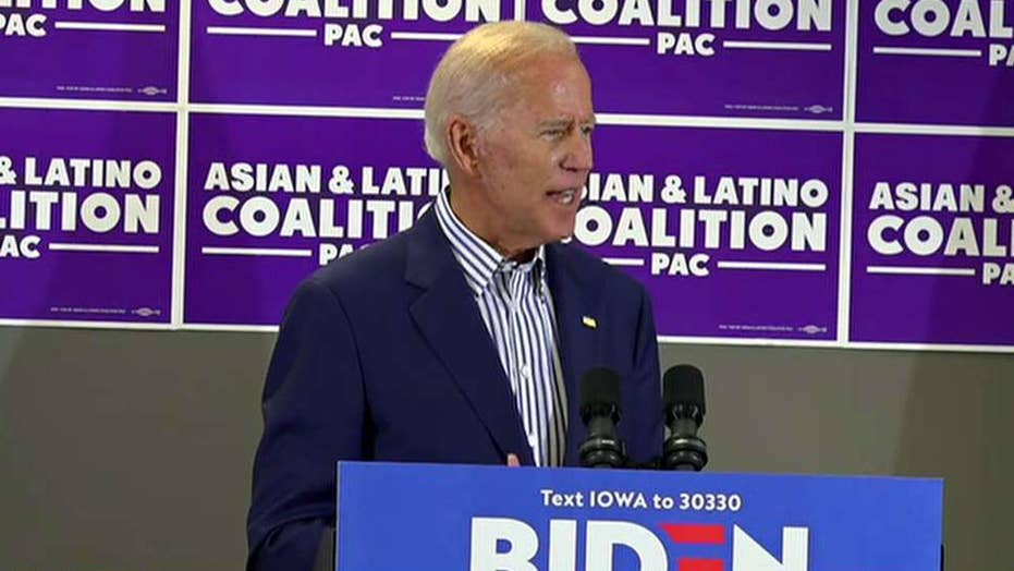 Trump: Biden is not playing with a full deck