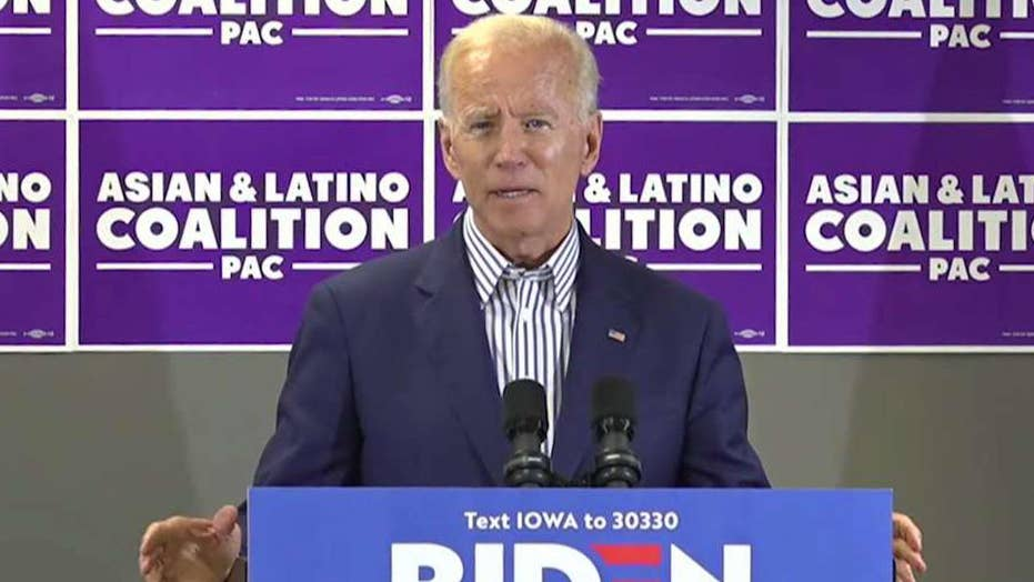 Trump slams Biden's latest gaffe, says Biden is 'not paying with a full deck'