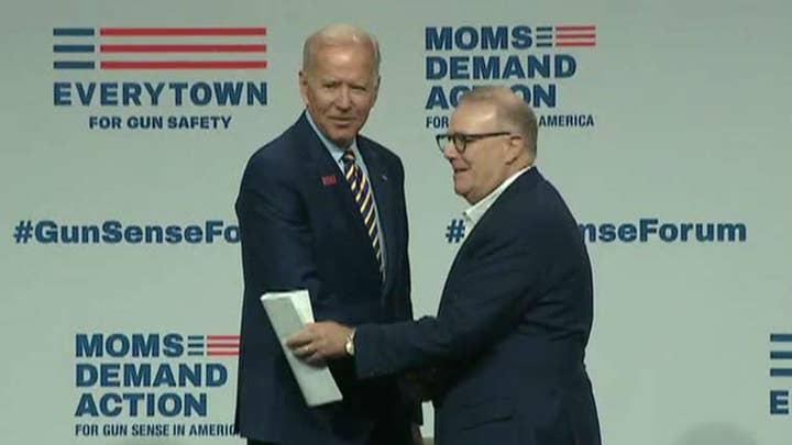 Eric Shawn: Joe Biden maintains his wide lead among Democrats