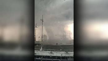 Tornadoes rip through Amsterdam and Luxembourg
