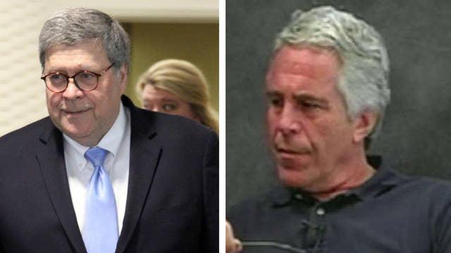 Attorney General Bill Barr raises questions about the circumstances surrounding Jeffrey Epstein's death