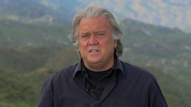 Steve Bannon on the state of the Democratic primary