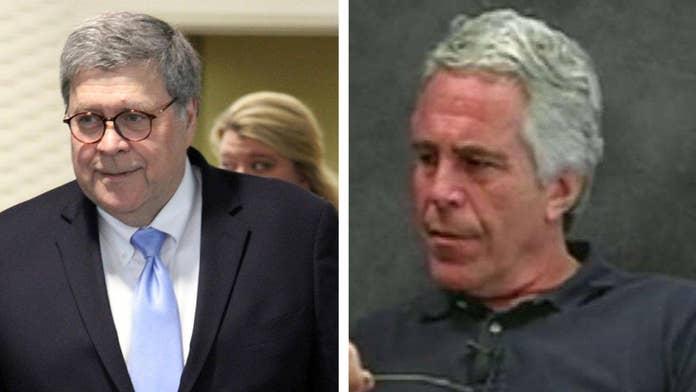 Attorney General William Barr decries 'serious irregularities' in Epstein's detention, vows full investigation