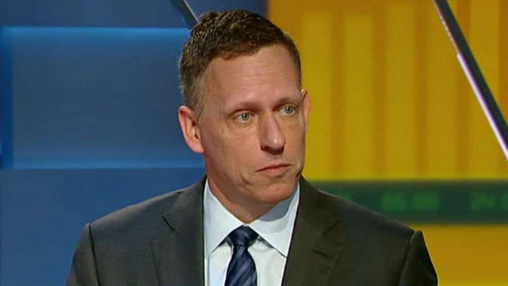 Peter Thiel on Google's AI work with China