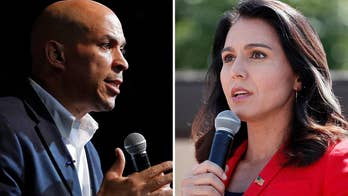 Non-meat eaters Booker, Gabbard faced with breaking tradition at Iowa State Fair