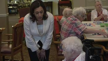 Kamala Harris confronted by upset Iowa resident: 'Leave our health care alone'