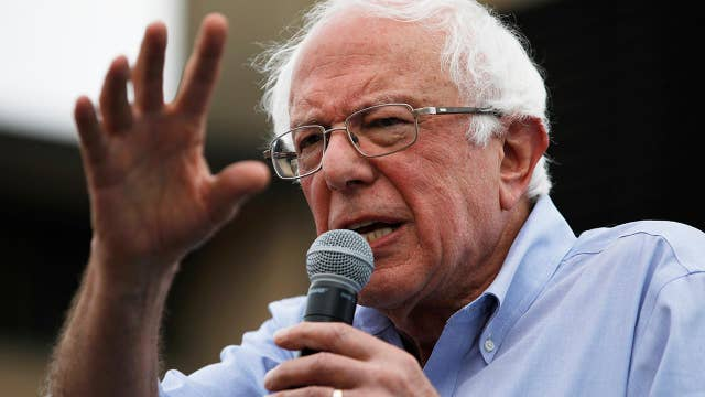 2020 Democratic candidates run on Sanders socialism