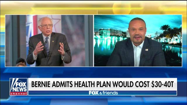 Dan Bongino on Bernie Sanders calling Trump 'an idiot': Biggest phony I've ever seen in politics