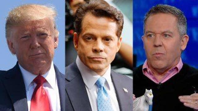 Gutfeld reacts to Scaramucci-Trump feud