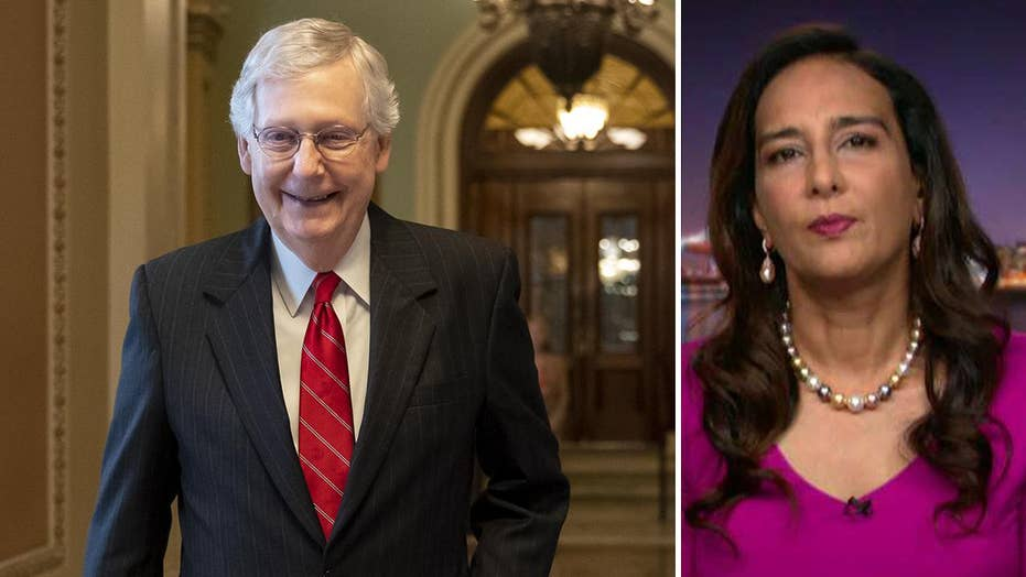 Harmeet Dhillon: McConnell campaign Twitter ban is latest shot in Big Tech's war on conservatives