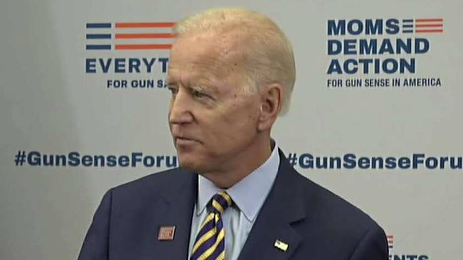 Biden campaign shrugs off confusion over Parkland shooting timeline