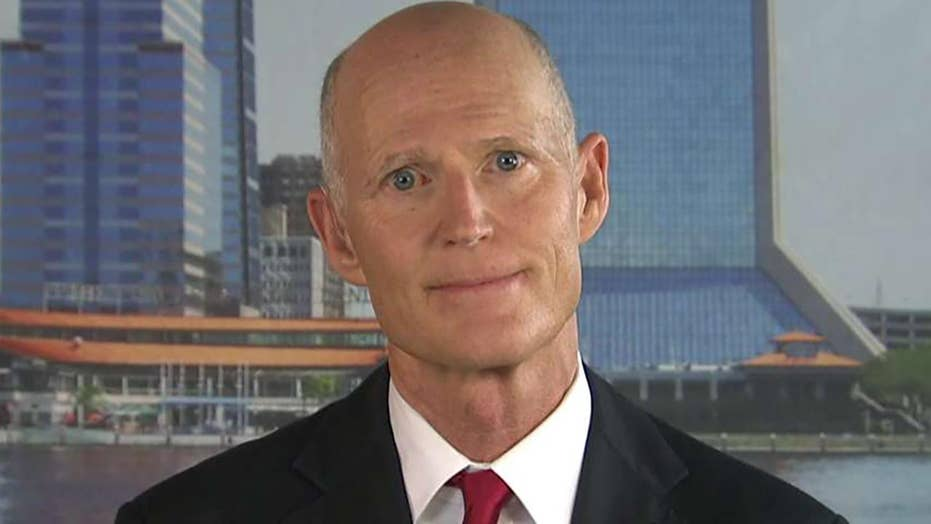 Taking away law-abiding citizens' guns is not the answer, Florida Sen. Rick Scott says