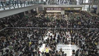 Hong Kong protests: US lawmakers warn China may be preparing Tiananmen Square-style crackdown