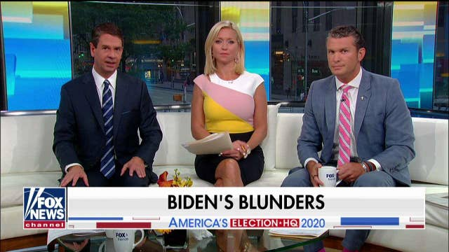 'Fox & Friends' takes on Joe Biden's blunders: 'He feels like a frontrunner in name only'