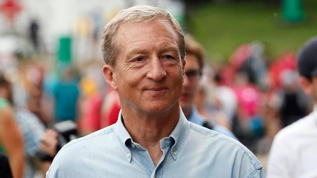 Tom Steyer hits donation threshold for fall debates