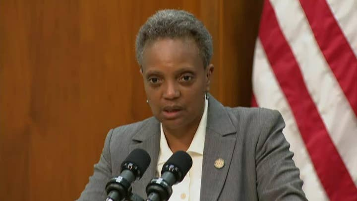 Chicago mayor addresses violence in city